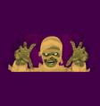 mummy halloween mummy monster costume vector image vector image