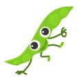peas icon cartoon style vector image vector image