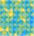 Retro geometric hexagon seamless pattern vector image vector image