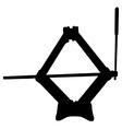 Scissor jack vector image vector image