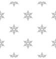 shuriken weapon pattern seamless vector image vector image