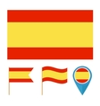 Spain country flag vector image