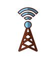 world signal antenna vector image