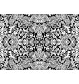 artistic coloring page with many decorative vector image vector image