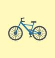 Bicycle bike icon vector image vector image