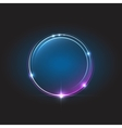 Energy abstract glow circles vector image vector image