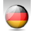 Flag button design elements vector image vector image