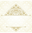 Floral pattern for invitation card