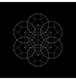 Harmonic sacred geometry Plato The vector image vector image