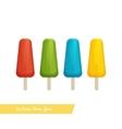 Ice Cream Frozen Juice vector image