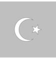 Islam computer symbol vector image