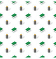 seamless background from a set office supplies vector image vector image