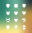 Set of Blank Badge vector image