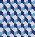 a seamless repeating geometric pattern vector image vector image