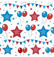 American usa flag seamless patterns independence