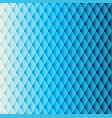 blue tiled rhombus pattern vector image vector image