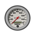 car speedometer in a realistic style vector image vector image