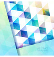 Colorful abstract mosaic background