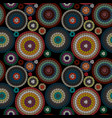 embroidery seamless pattern ornament with colored vector image vector image