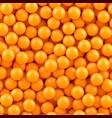 orange balls background vector image vector image