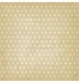 polka dot pattern old background vector image vector image