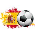Spain Soccer Grunge Design