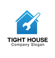 Tight House Design vector image vector image