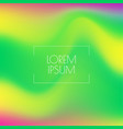 trendy fluid gradient background vector image