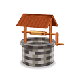 water well isolated vector image vector image