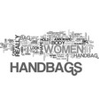 women s handbags handbags that flatter your body vector image vector image