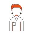 avatar man character vector image