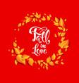 bright autumn design vector image vector image