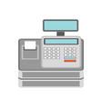 cash register for business concept vector image
