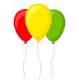 colorful cartoon 3 baloon