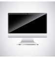 desktop computer technology icon vector image vector image