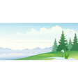 Early spring banner vector image vector image