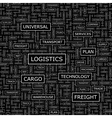 LOGISTICS vector image vector image