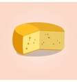 Wheel of cheese vector image