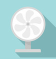 wind home fan icon flat style vector image vector image