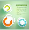 abstract futuristic design concept vector image vector image