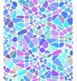 background with a blue broken stained glass vector image