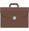 briefcase icon business work bag vector image