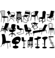 Chairs set vector | Price: 1 Credit (USD $1)