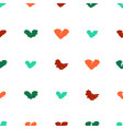 cute seamless pattern with unusual bright vector image