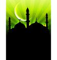 eid ul fitar background vector image vector image