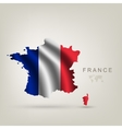 Flag of France as a country vector image