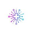 health share logo icon design vector image vector image