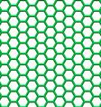 Hexagonal net vector image vector image