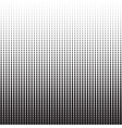 Vertical Dots Halftone Pattern vector image vector image