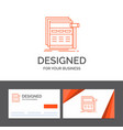 business logo template for internet page web vector image vector image
